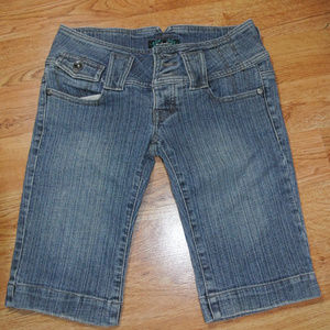 Anchor Blue Bermuda Shorts 5/6 5 Juniors EUC